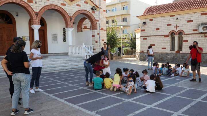 Et større jordskælv har ramt den græske ø Kreta