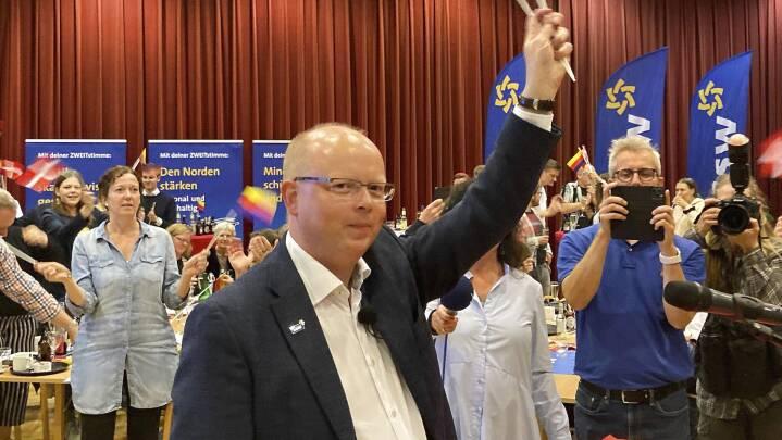 Sensationel valgsejr udløste danskerfest i Tyskland: Her synger de 'Re-Sepp-ten'