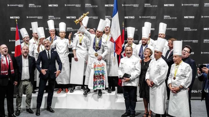 Dansk sølv ved kokke-VM