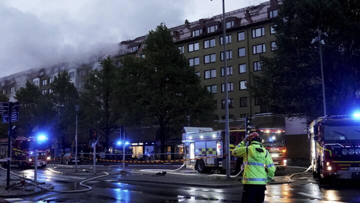 Flere hundrede evakueret efter eksplosion i Göteborg