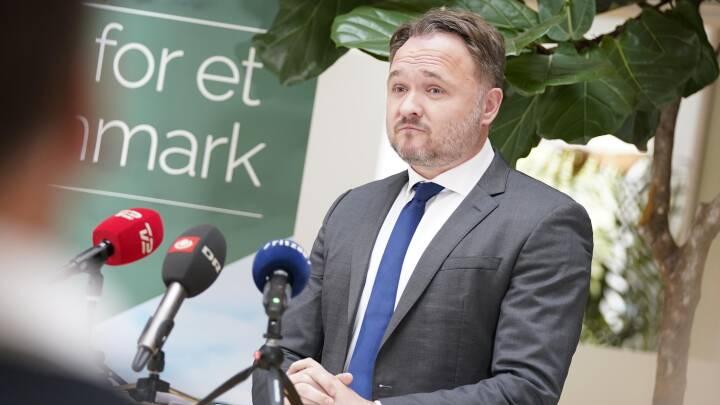 MINUT FOR MINUT Klimaminister om CO2-reduktion: 'Vi skal gå forrest, men det skal ikke gå ud over ligheden i vores samfund'