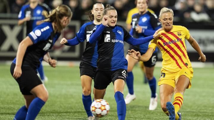 Heroiske HB Køge må give fortabt mod de forsvarende Champions League-vindere