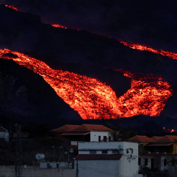 Lavaflod ødelægger 1.817 bygninger på spansk ø