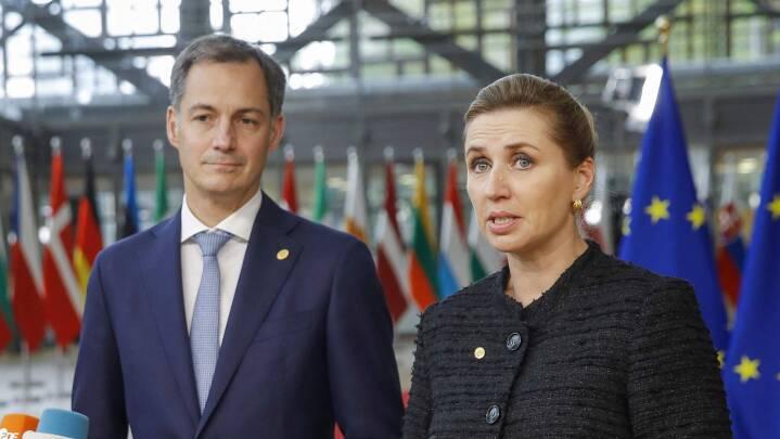 Mette Frederiksen om strid med Polen: 'Der er nogle rettigheder og værdier, vi ikke kan gå på kompromis med'