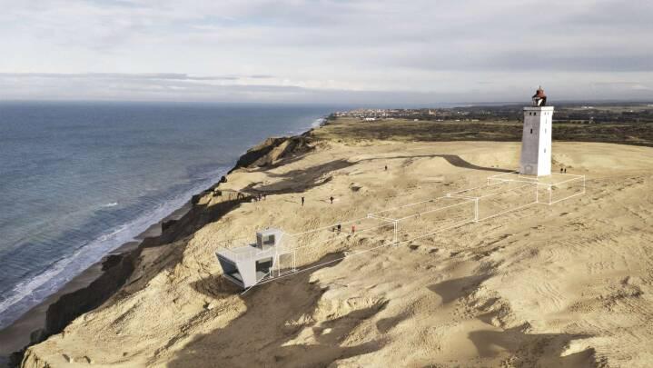 Gruppe vil have besøgscenter under sandet ved Rubjerg Knude Fyr