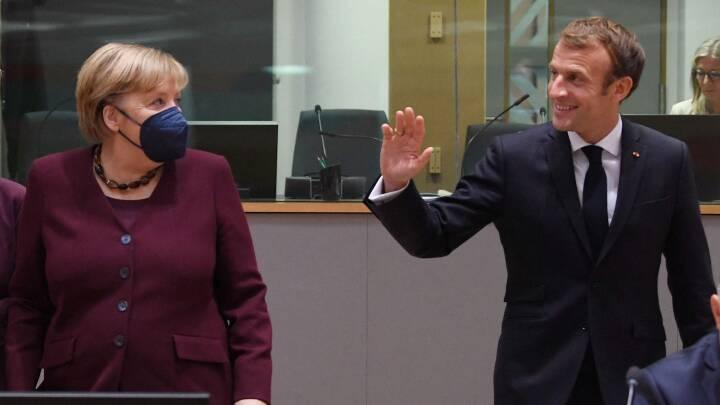 EU-landenes ledere siger farvel til Angela Merkel efter 107 topmøder