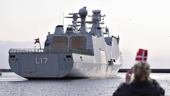 Dansk fregat skal afskrække pirater