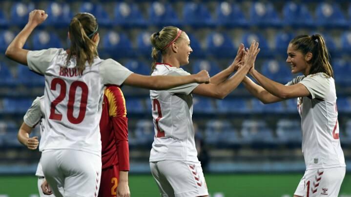Danmark buldrer videre: Ny storsejr i VM-kvalifikationen