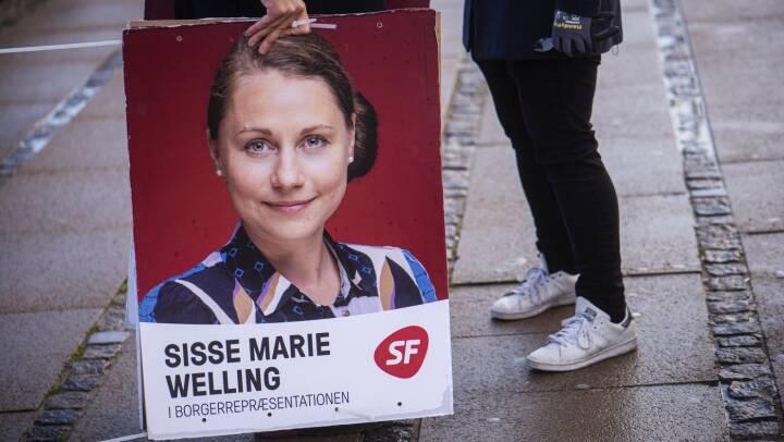 SF-topkandidat smittet med corona: Måtte forlade debatmøde