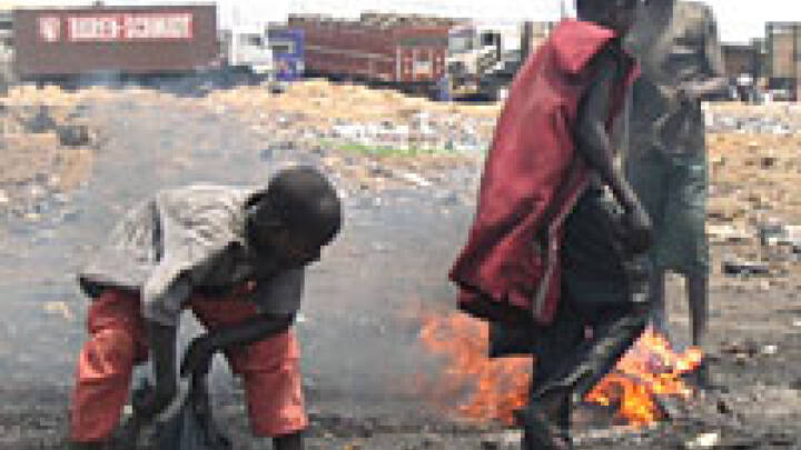 Ghana - et el-krematorium
