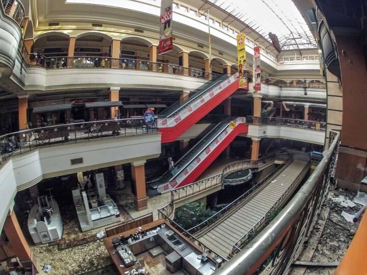 BILLEDSERIE: Efter terrorangrebet i Kenya – kom indenfor i det smadrede indkøbscenter