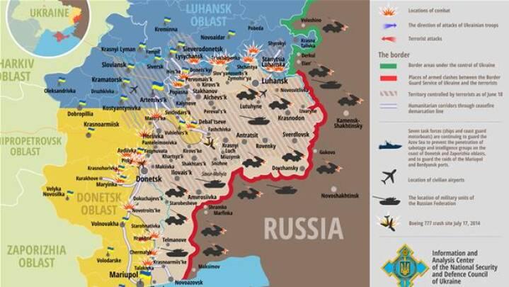 Kort Fa Overblik Over Kampene I Ukraine Udland Dr