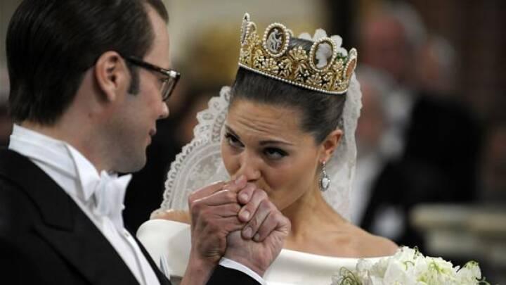 Victoria og Daniel har giftet sig