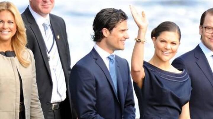 1.100 gæster vil overvære Victorias bryllup