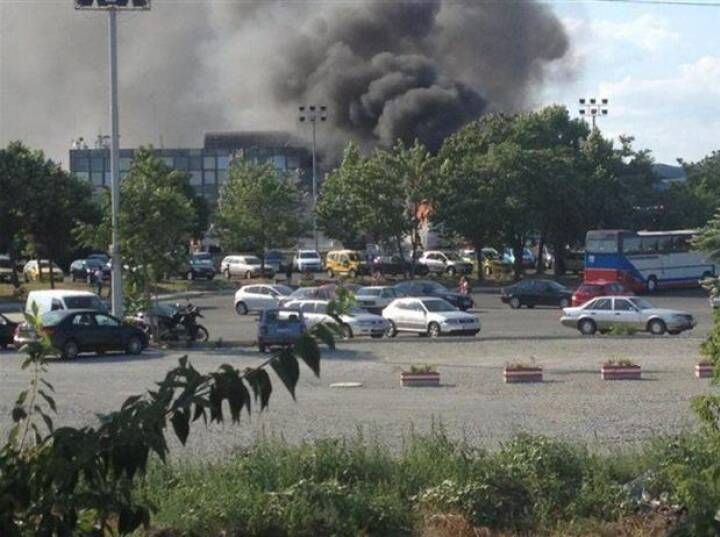 BILLEDSERIE: Buseksplosion i Bulgarien
