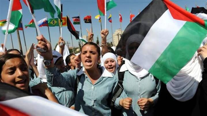 Palæstinensernes kamp for en selvstændig stat