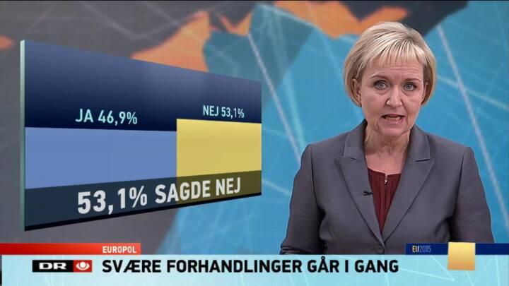 Danskerne stemte nej