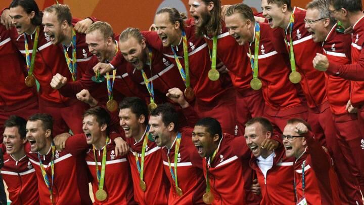 BILLEDER De danske håndboldherrer vandt guld ved OL