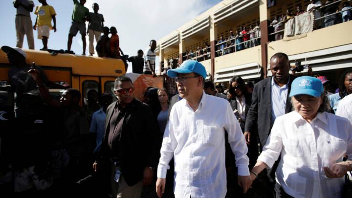 Plyndringer af nødhjælpskonvojer i Haiti bekymrer FN - TV 2