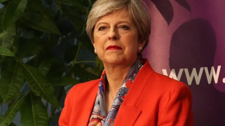 Theresa May: Jeg vil sikre stabilitet uanset valgresultatet