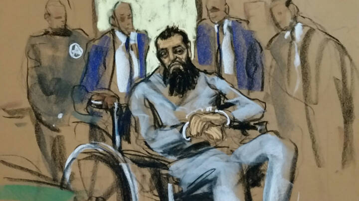 Advokater: Trump hjælper terrorist med krav om dødsstraf