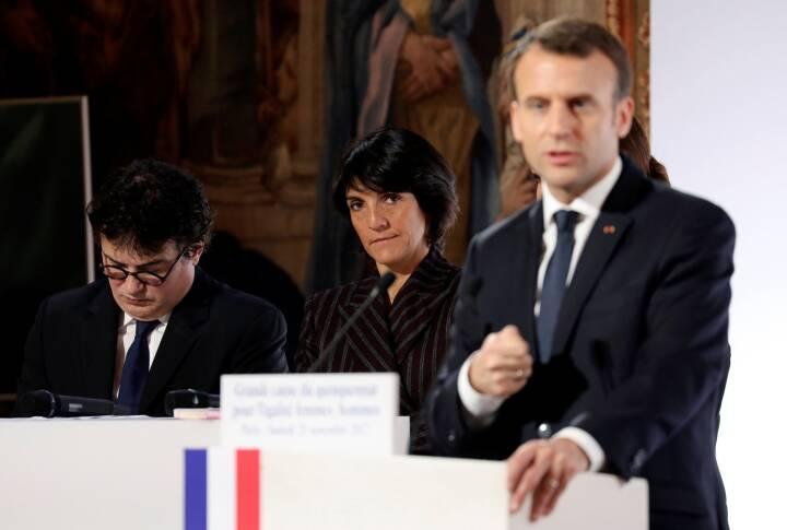 Frankrigs Macron: Mere hjælp til ofre for overgreb