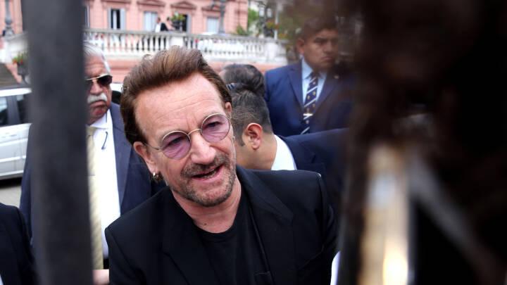Bono bryder tavsheden efter forbindelse til Paradise Papers