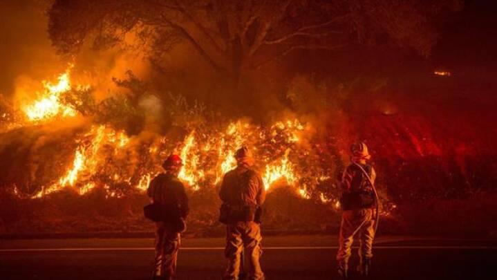 Skovbrand er blevet den tredjestørste i Californiens historie