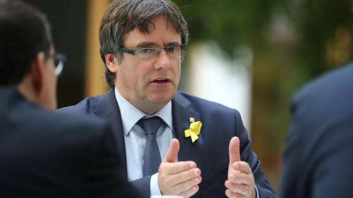Carles Puigdemont vil føre løsrivelsespolitik fra Belgien