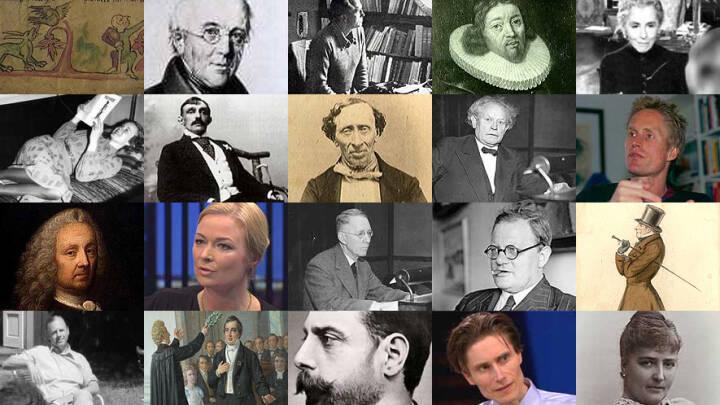 Tidslinje: Dansk litteraturhistorie