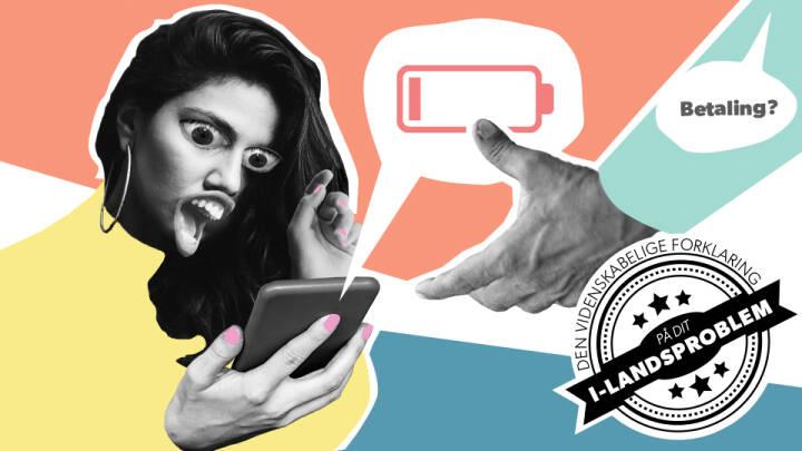 Batteribøvl: Derfor går din mobil ud med 20 procent tilbage