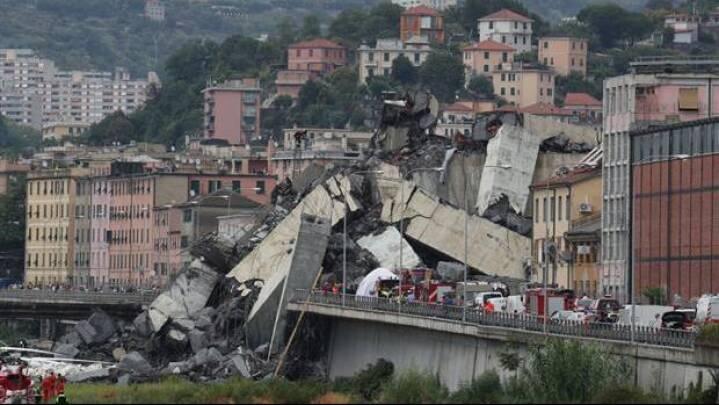 Ofre for Genovas brokollaps må stadig ikke hente ejendele