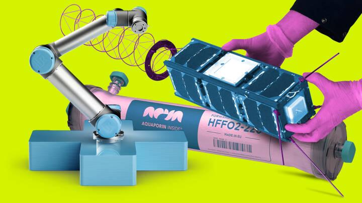 Robotarme, nanosatellitter og urin-filter: Her er tre danske teknologier, der former fremtiden