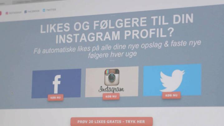 Nicolas sælger falske likes til virksomheder: De vil fremstå mere troværdige