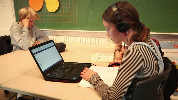 Ordblinde kan nå langt med computerhjælp og særlig støtte