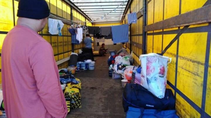 Efter afsløring af slumlejr ved grænsen: 20 transportfirmaer vil få uanmeldt besøg
