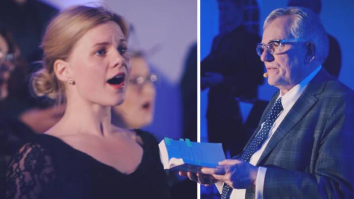 Se dansk kor gøre sorgen smuk med to rørende sange