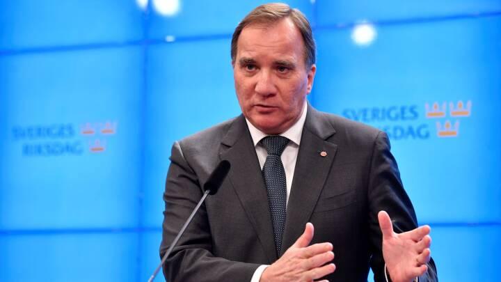 Aftale om regering på plads i Sverige - fire partier peger på Stefan Löfven