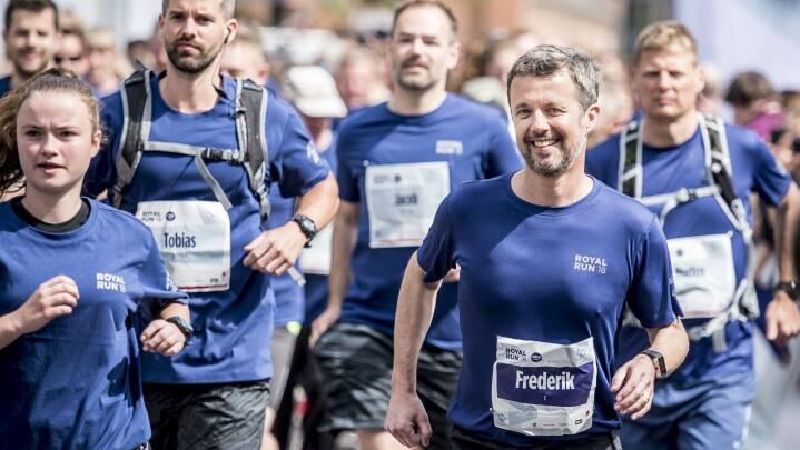 Kronprins Frederik inviterer også til Royal Run i år
