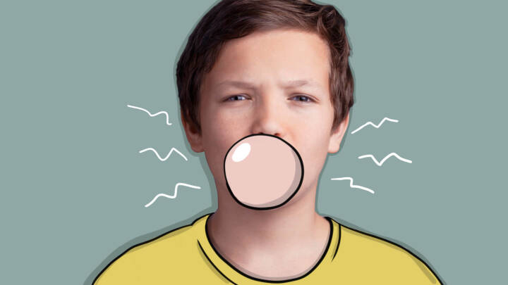 Ren fordøjelse: Er det farligt at sluge tyggegummi?