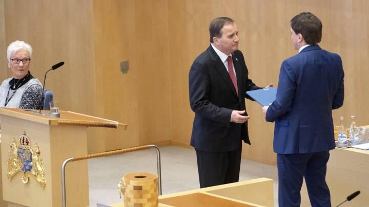 Efter 131 dage: Sverige har fået en statsminister
