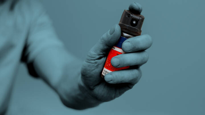 Nu kommer pebersprayen: Våbenhandler giver 5 gode råd
