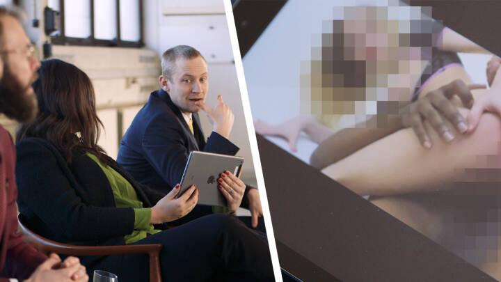 Stefan og Mikkel vil gerne sælge videoer med sex