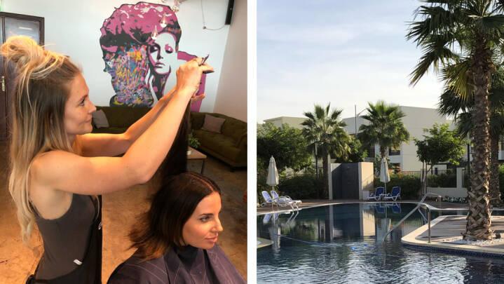 Sussi drømte om nye oplevelser i hverdagen: Nu ejer hun en frisørsalon i Dubai