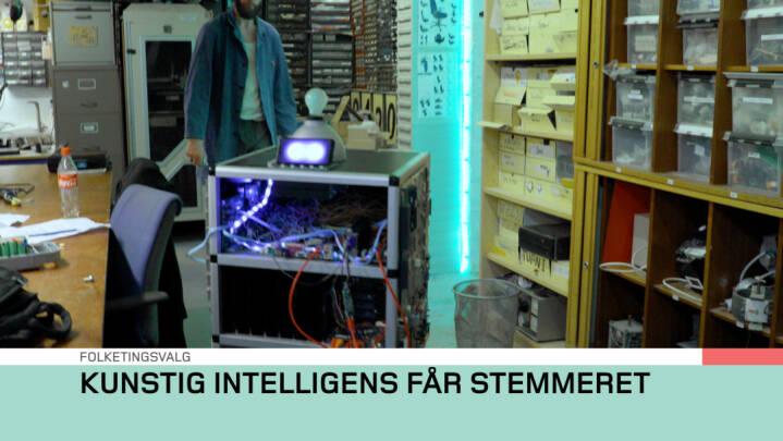 SATIRE Kunstig intelligens har fået stemmeret til det kommende folketingsvalg