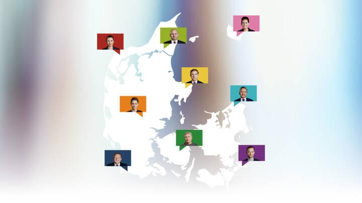 Jylland slår Sjælland i folketingssalen: Tjek om politikerne husker eller glemmer din by
