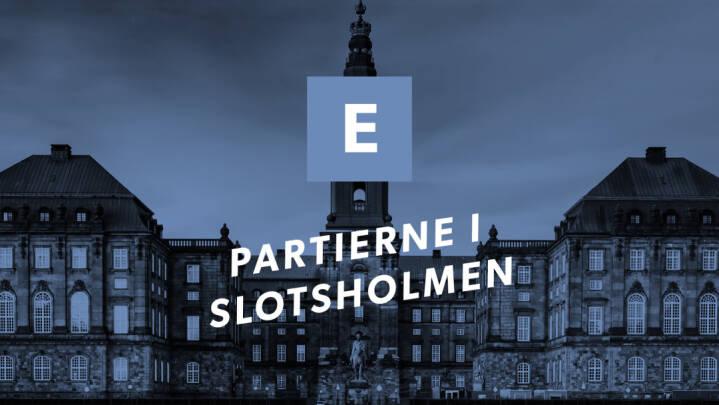 Partierne i Slotsholmen: Klaus Riskær Pedersen