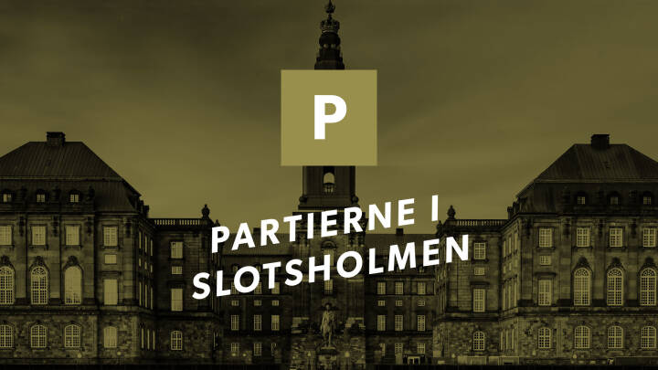 Partierne i Slotsholmen: Stram Kurs
