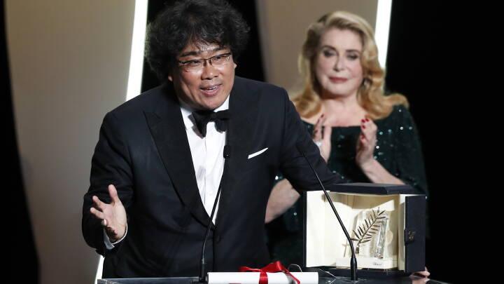 Sydkoreansk film modtager Guldpalmen til filmfestivalen i Cannes