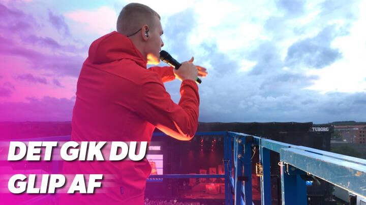 Dukker op ud af det blå: Danske rock-sensationer tager røven på intetanende publikum